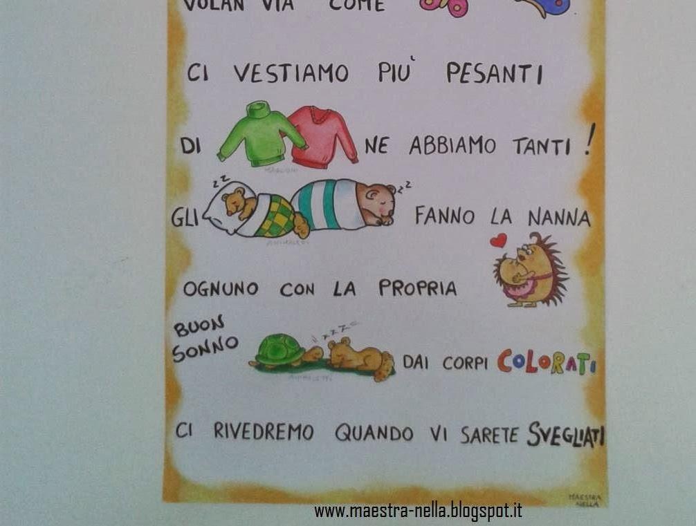 Eccezionale maestra Nella: Autunno - poesia illustrata UR96