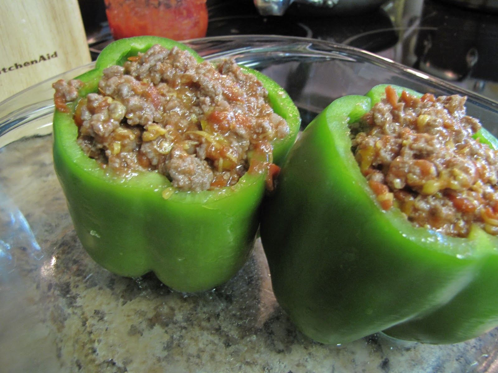 Easy Peasy: Stuffed Bell Peppers