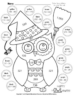 Halloween Math Worksheets Grade 4 http://search.mangobite.com/search/images?search=multiplication+coloring+worksheets+4th+grade&type=images