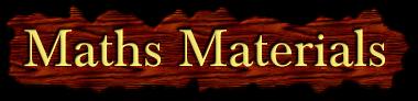 Maths Materials