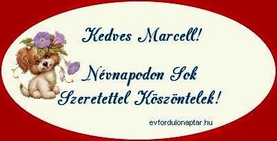 Marcell névnap