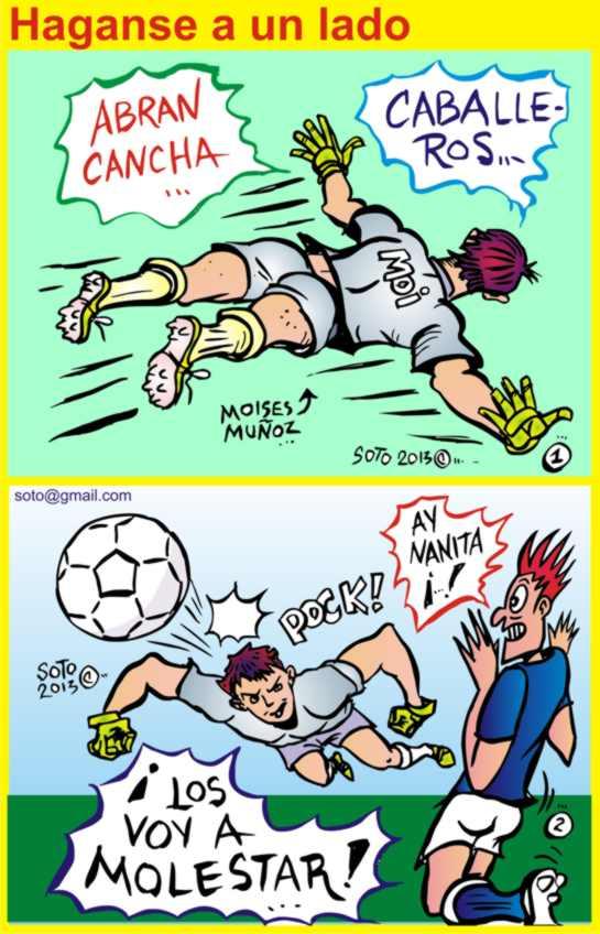Futbol caricatura pelota Imágenes y almacen de fotos 90  - Imagenes De Caricaturas De Futbol