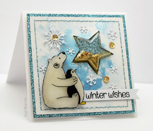 Star Gazing - Shaker Card