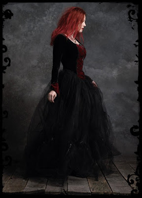 Gothic Wedding Dresses Handmade Victorian, Steampunk, Gothic Wedding