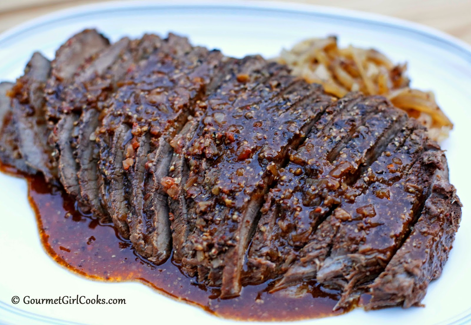 Gourmet Girl Cooks: Slow Cooked Cola Braised Brisket - Low ...