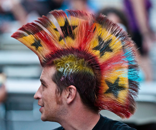Crazy Hair Styles: Mohawk Hairstyles