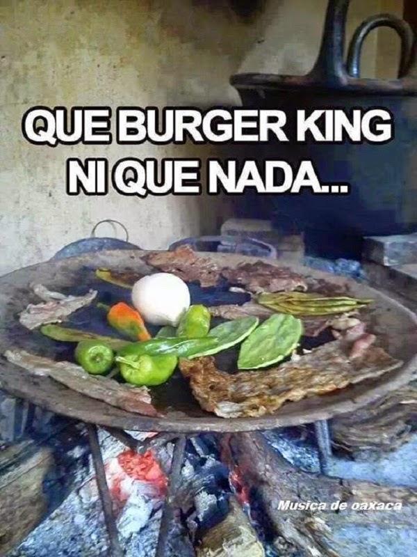 Que Burger King