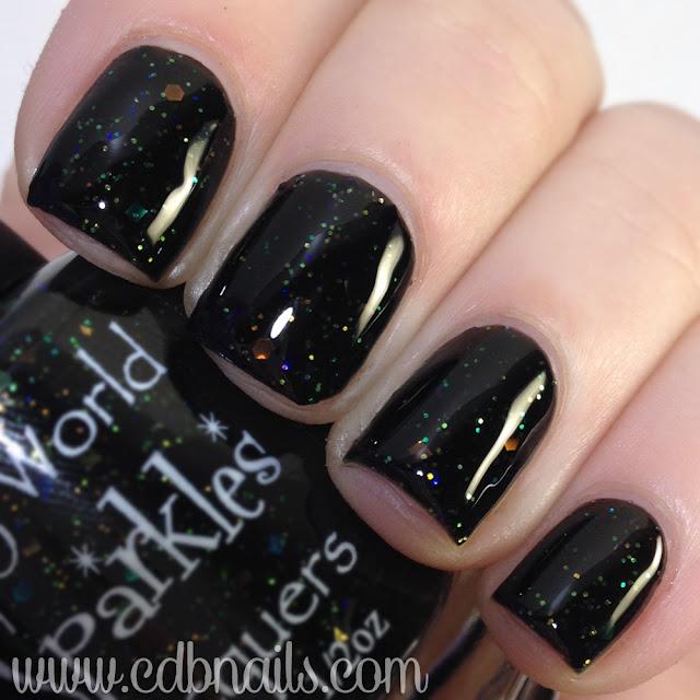 My World Sparkles-Black Opal