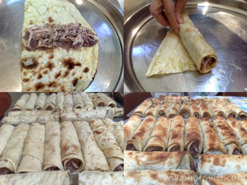 طريقة عمل لفائف المسخن الفلسطيني