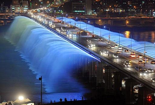 Jembatan Banpo, Korea Selatan