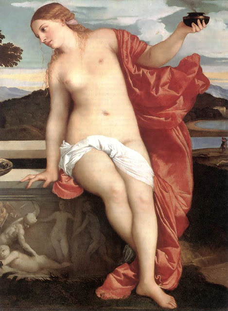 Titian / Italian painter & draftsman /born circa 1488