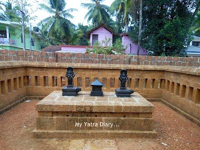 Other deities in Shree Krishna temple in Kannur, Kerala