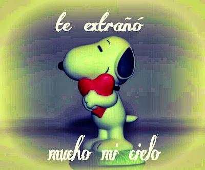 Imagen de Snoopy de Amor
