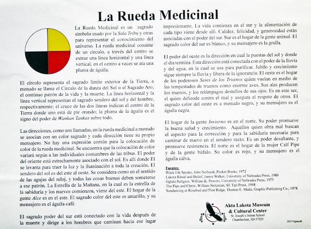 Rueda Medicinal del Akta Lakota Museum