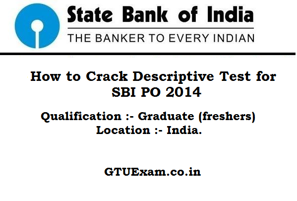 descriptive papers for sbi po