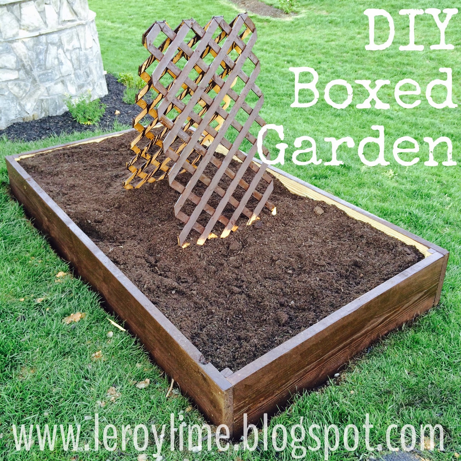 DIY Raised Garden Box