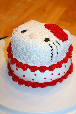 Say It Sweetly Hello Kitty Birthday Cake 11232009