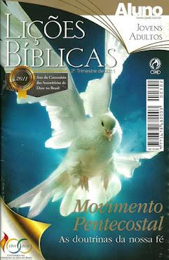 Lições Bíblicas do 2º Trimestre de 2011