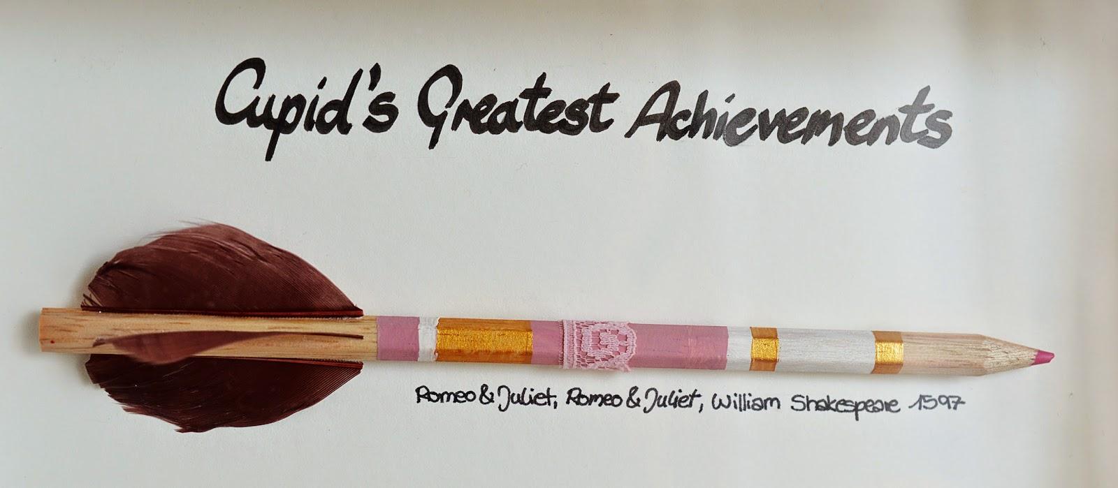 cupid s greatest achievements motte cupid s greatest achievements diy pencil arrows display motte s blog