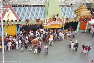 Mr. Toad's Wild Ride original Fantasyland Skyway 1970's Disneyland