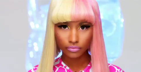 nicki minaj hairstyles in super bass. Nicki Minaj Super Bass Makeup