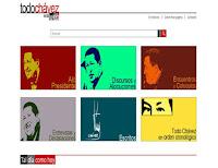 Visitas la paguina de Todo Chavez en la Web