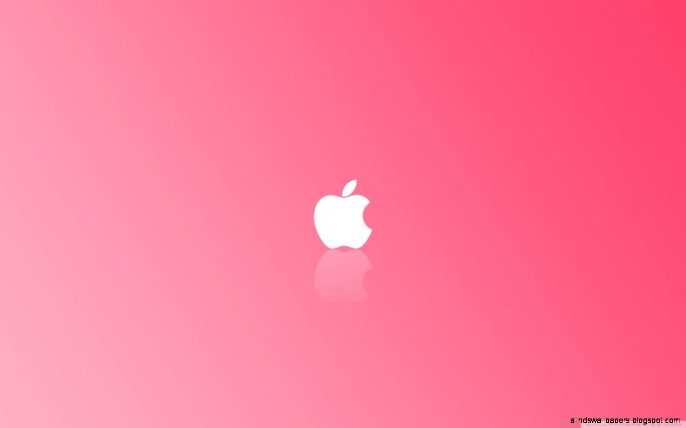 apple pink wallpaper background all hd wallpapers