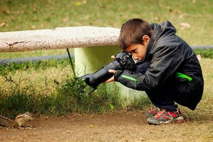 Bocah Sembilan Tahun Ini Jadi Pemenang Kontes Fotografer Alam Liar
