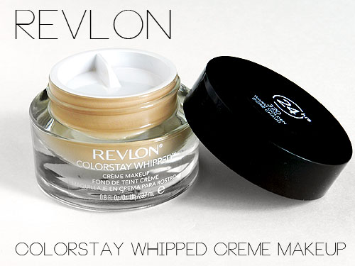 Revlon Colorstay Whipped Foundation Review