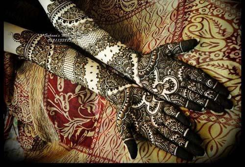 Gorgeous Bridal Mehndi Designs : Lady's art club: eleven designs of bridal mehndi for full hands