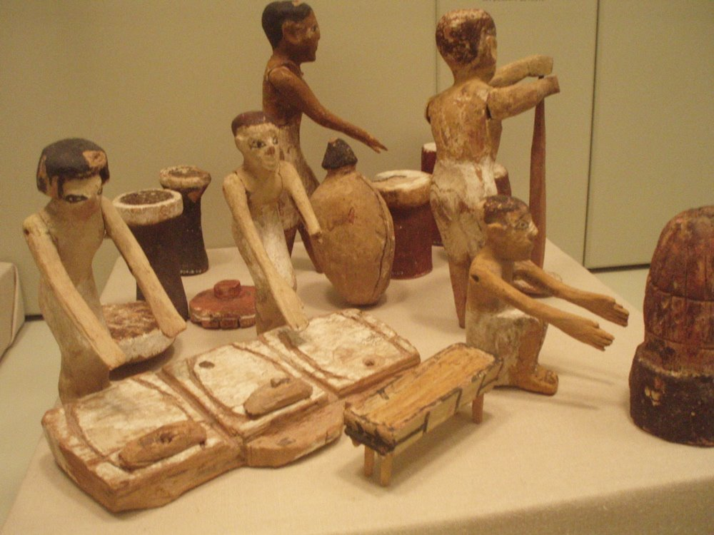 Ancient egyptian bread and beer for Ancient egyptian cuisine