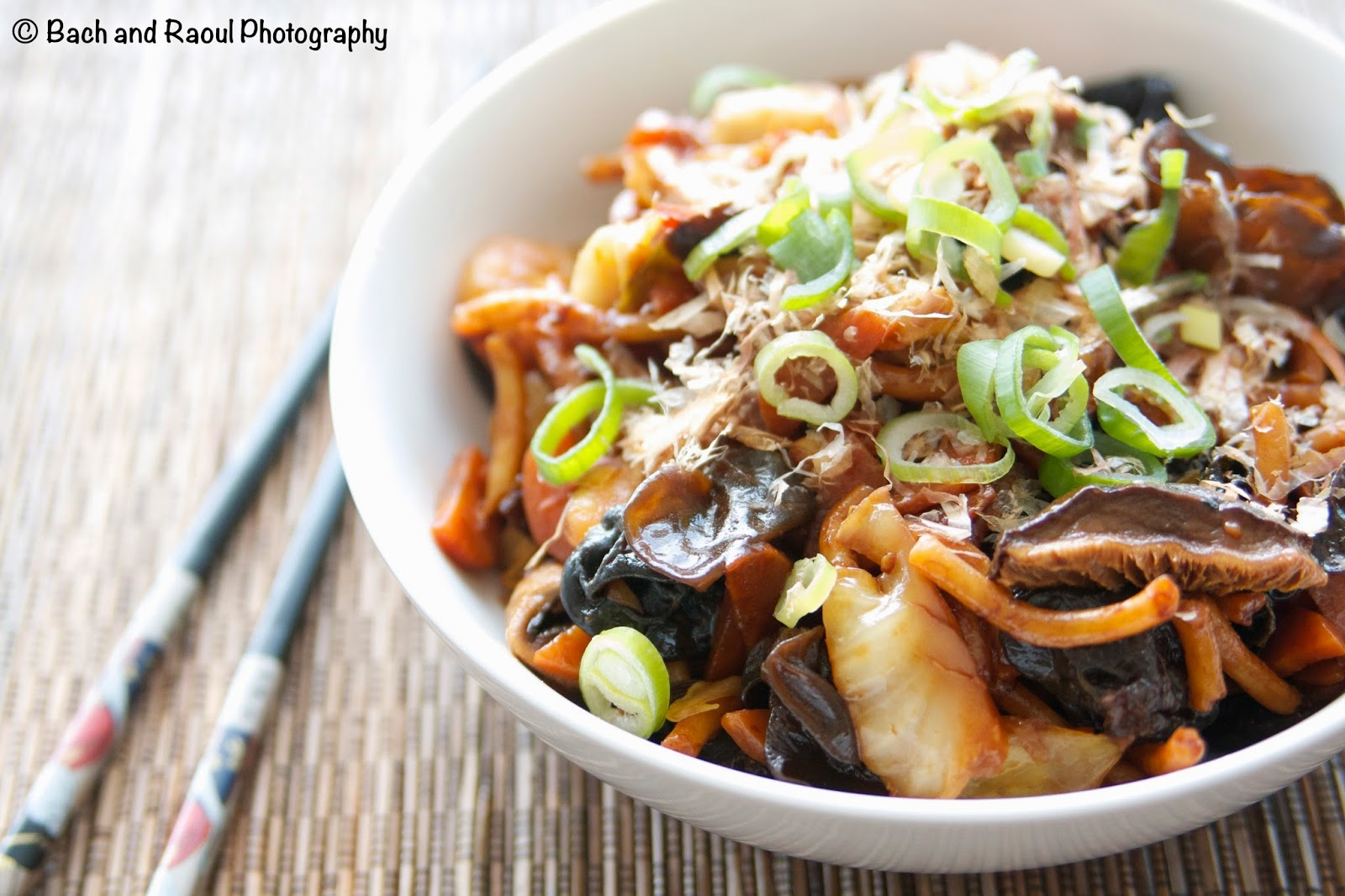 Yaki Udon - Japanese Stir Fry Noodles