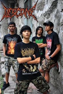 Descane Band Brutal Death Metal Surabaya Indonesia Wallpaper Photo Pictures