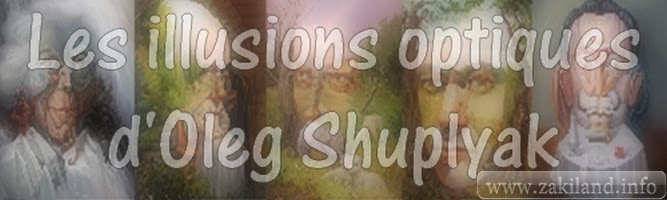 Les illusions optiques d'Oleg Shuplyak