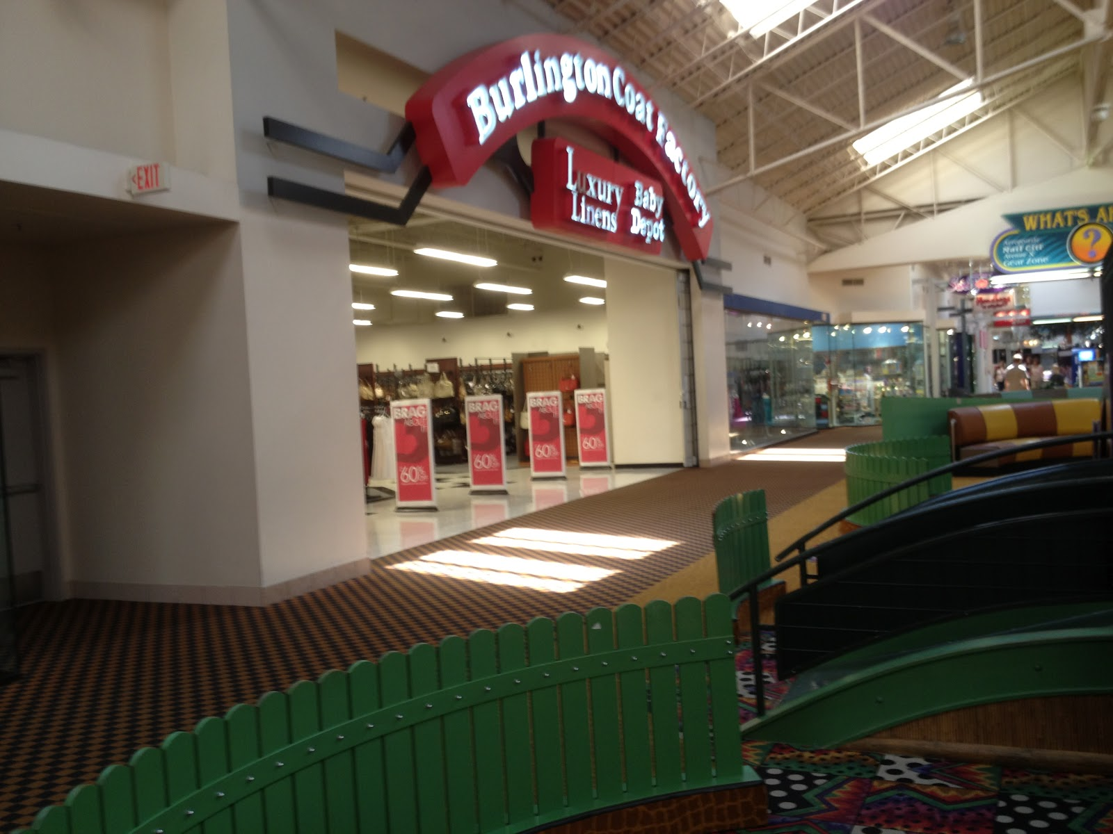 The Burlington Coat Factory mall entrance