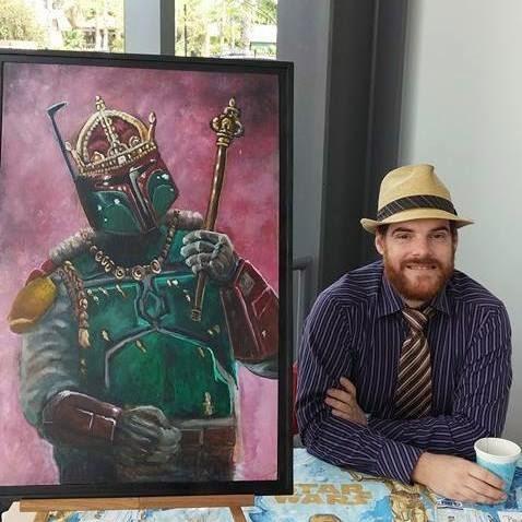 Artist Jeremy Rathbone