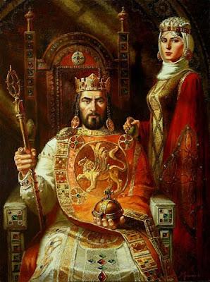 короната на българските средновековни царе