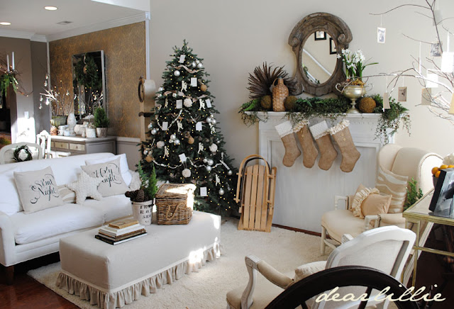dear lillie our christmas tour. Black Bedroom Furniture Sets. Home Design Ideas