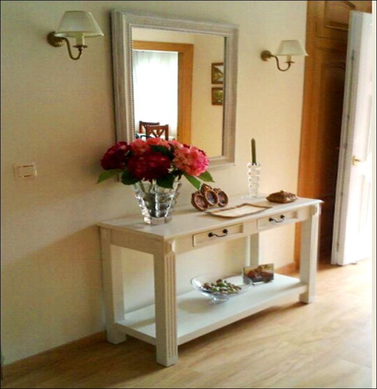 Quedamos en el blog una de entradas - Consolas muebles ikea ...