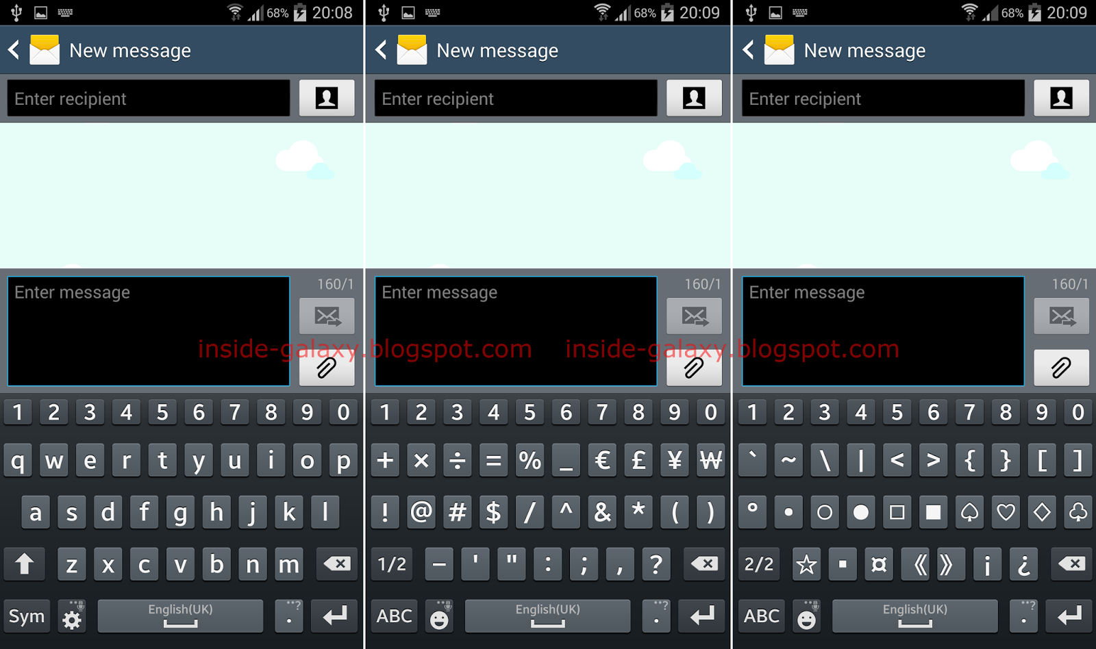 Samsung galaxy s4 how to use samsung virtual keyboard in android fyi i wrote these steps using the stock qwerty samsung keyboard in the messaging app so you may see a different keyboard buycottarizona