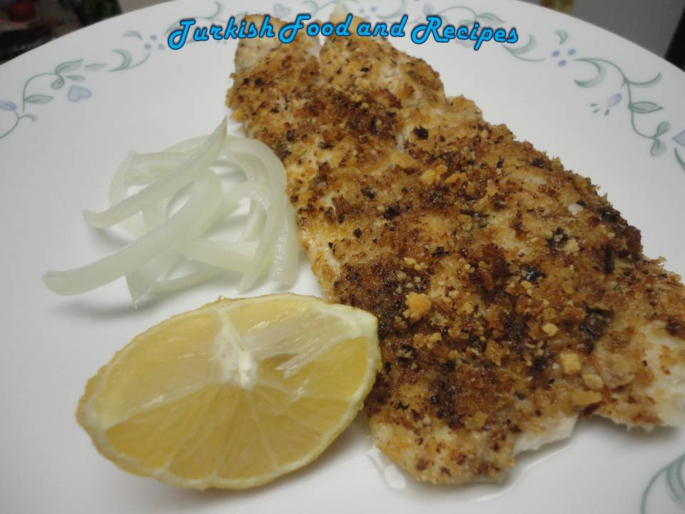 Baked Red Snapper with Garlic (Firinda Sarimsakli Levrek)