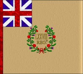78th Regiment of Foot  Regimental Colour