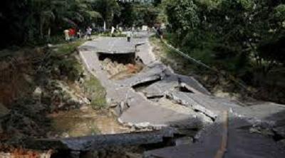 Pasca Gempa Bumi 7,3 SR di Maluku Utara