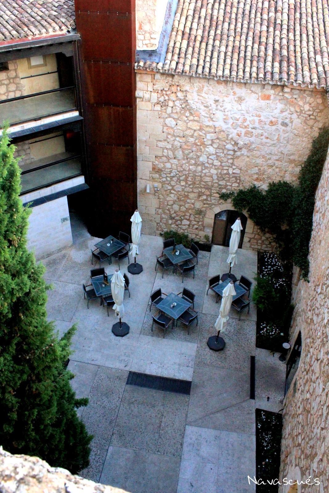 Patio de Armas del Castillo-Parador