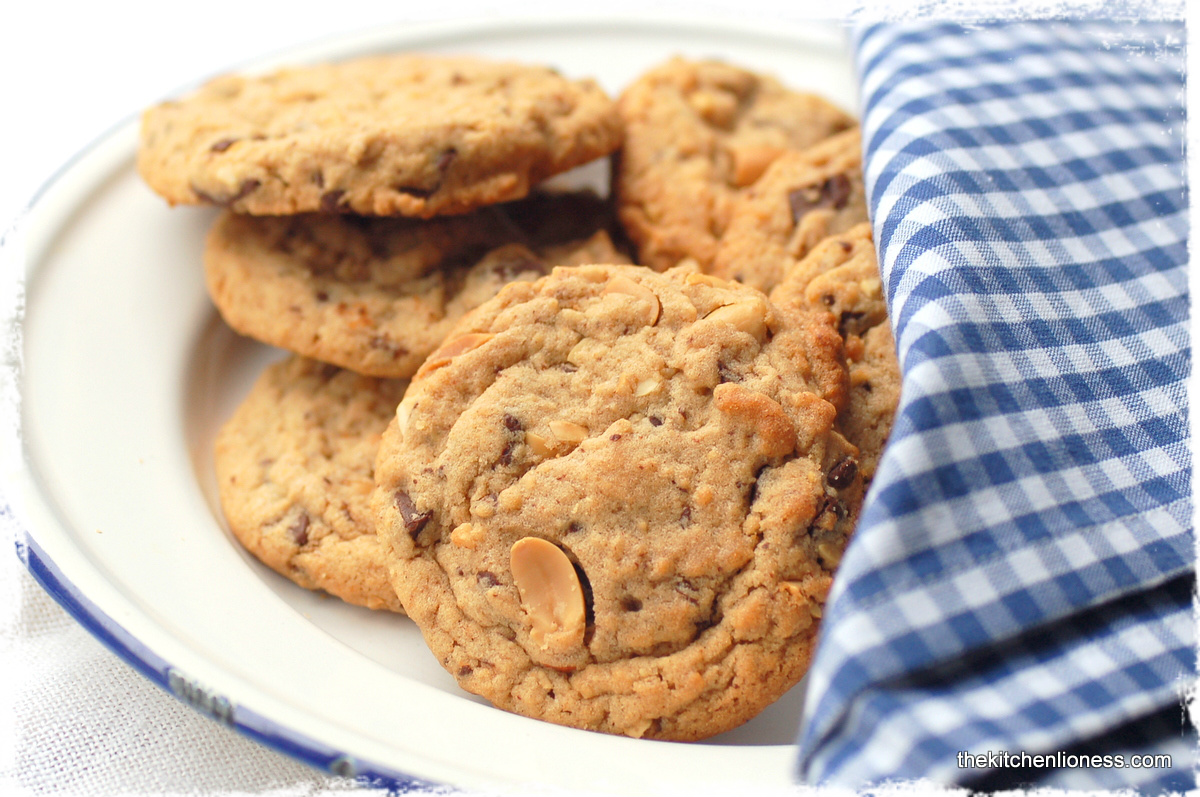 The Kitchen Lioness: Chunky Peanut, Chocolate, and ...