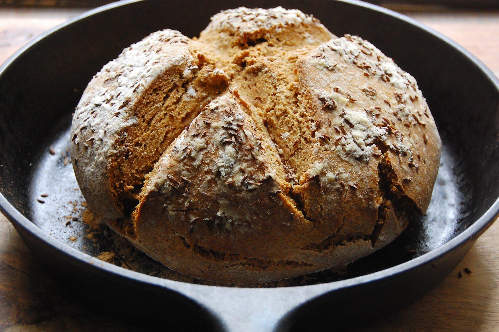palate/palette/plate: Rye-Cornmeal Soda Bread