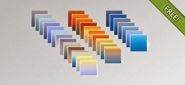 PSD Photoshop Gradients