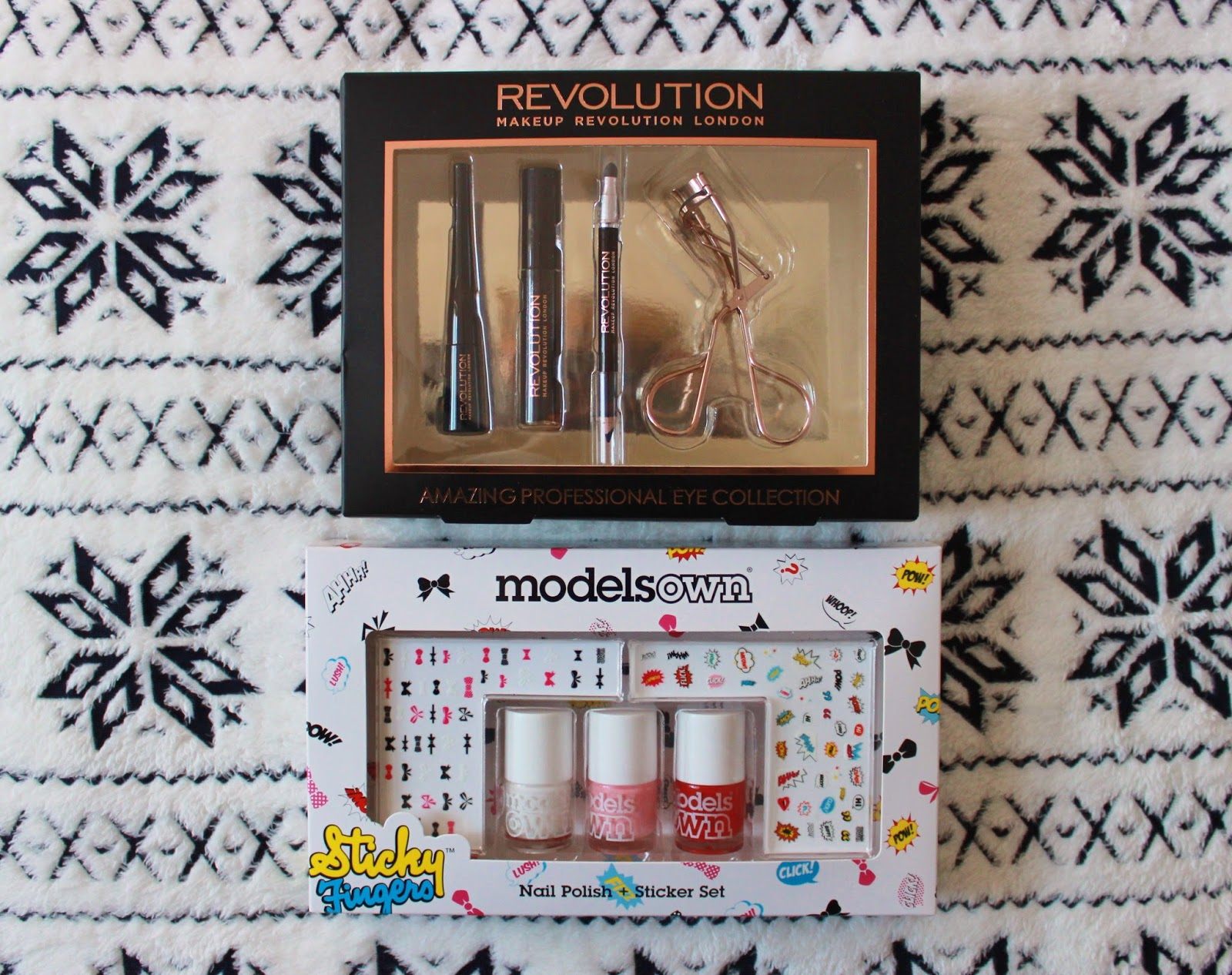 Makeup Revolution and Models own giveaway prize