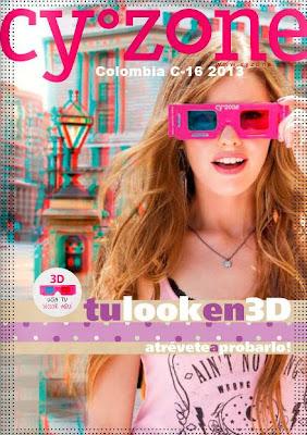 catalogo cyzone colombia c-16 2013