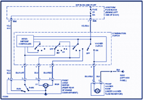 Suzuki Swift 1997 Electrical Wiring Diagram